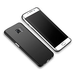 Custodia Plastica Rigida Opaca M03 per Samsung Galaxy S6 Edge+ Plus SM-G928F Nero