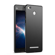 Custodia Plastica Rigida Opaca M03 per Xiaomi Redmi 3 Pro Nero