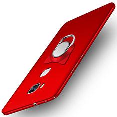 Custodia Plastica Rigida Opaca M04 per Huawei Honor 5X Rosso