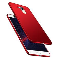 Custodia Plastica Rigida Opaca M04 per Huawei Honor V9 Play Rosso