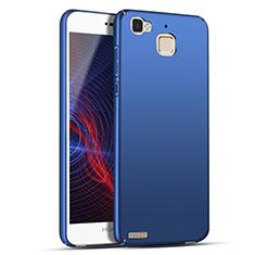 Custodia Plastica Rigida Opaca M04 per Huawei P8 Lite Smart Blu