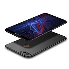 Custodia Plastica Rigida Opaca M04 per Huawei Y7 (2018) Nero