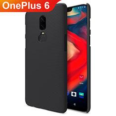 Custodia Plastica Rigida Opaca M04 per OnePlus 6 Nero