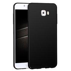 Custodia Plastica Rigida Opaca M04 per Samsung Galaxy C7 Pro C7010 Nero