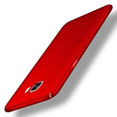 Custodia Plastica Rigida Opaca M04 per Samsung Galaxy C7 SM-C7000 Rosso