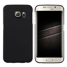 Custodia Plastica Rigida Opaca M04 per Samsung Galaxy S6 Edge SM-G925 Nero