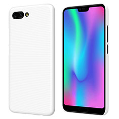 Custodia Plastica Rigida Opaca M05 per Huawei Honor 10 Bianco