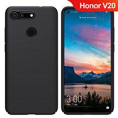 Custodia Plastica Rigida Opaca M05 per Huawei Honor View 20 Nero