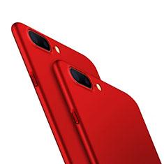 Custodia Plastica Rigida Opaca M05 per OnePlus 5 Rosso