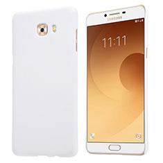 Custodia Plastica Rigida Opaca M05 per Samsung Galaxy C9 Pro C9000 Bianco