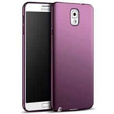 Custodia Plastica Rigida Opaca M05 per Samsung Galaxy Note 3 N9000 Viola