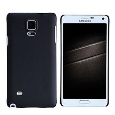 Custodia Plastica Rigida Opaca M05 per Samsung Galaxy Note 4 Duos N9100 Dual SIM Nero