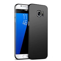 Custodia Plastica Rigida Opaca M05 per Samsung Galaxy S7 Edge G935F Nero