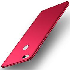 Custodia Plastica Rigida Opaca M05 per Xiaomi Mi Max 2 Rosso