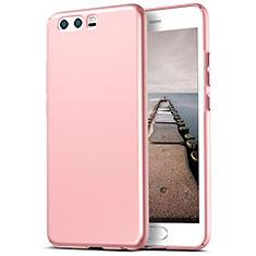 Custodia Plastica Rigida Opaca M06 per Huawei P10 Plus Rosa