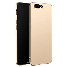 Custodia Plastica Rigida Opaca M06 per OnePlus 5 Oro