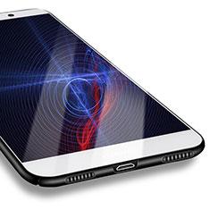 Custodia Plastica Rigida Opaca M07 per Huawei Enjoy 7 Plus Nero