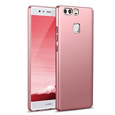 Custodia Plastica Rigida Opaca M07 per Huawei P9 Rosa