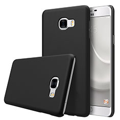 Custodia Plastica Rigida Opaca M08 per Samsung Galaxy C7 SM-C7000 Nero
