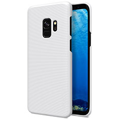 Custodia Plastica Rigida Opaca M09 per Samsung Galaxy S9 Bianco