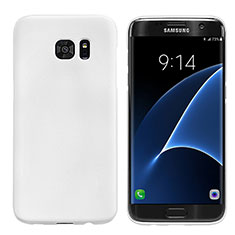 Custodia Plastica Rigida Opaca M10 per Samsung Galaxy S7 Edge G935F Bianco
