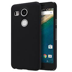 Custodia Plastica Rigida Opaca P01 per Google Nexus 5X Nero