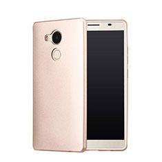 Custodia Plastica Rigida Opaca P01 per Huawei Mate 8 Oro