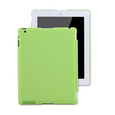 Custodia Plastica Rigida Opaca per Apple iPad 2 Verde