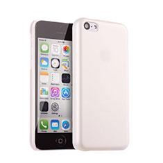 Custodia Plastica Rigida Opaca per Apple iPhone 5C Bianco