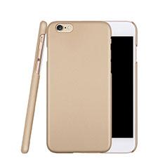 Custodia Plastica Rigida Opaca per Apple iPhone 6S Oro