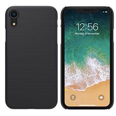 Custodia Plastica Rigida Opaca per Apple iPhone XR Nero