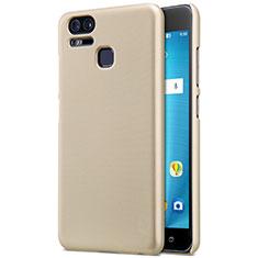 Custodia Plastica Rigida Opaca per Asus Zenfone 3 Zoom Oro