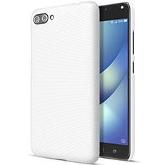 Custodia Plastica Rigida Opaca per Asus Zenfone 4 Max ZC554KL Bianco
