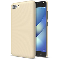 Custodia Plastica Rigida Opaca per Asus Zenfone 4 Max ZC554KL Oro