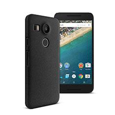 Custodia Plastica Rigida Opaca per Google Nexus 5X Nero