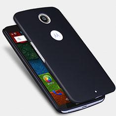 Custodia Plastica Rigida Opaca per Google Nexus 6 Nero