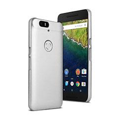 Custodia Plastica Rigida Opaca per Google Nexus 6P Bianco