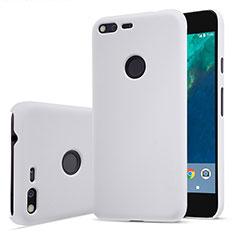 Custodia Plastica Rigida Opaca per Google Pixel Bianco