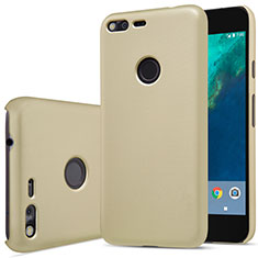 Custodia Plastica Rigida Opaca per Google Pixel Oro