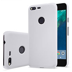 Custodia Plastica Rigida Opaca per Google Pixel XL Bianco