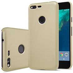 Custodia Plastica Rigida Opaca per Google Pixel XL Oro