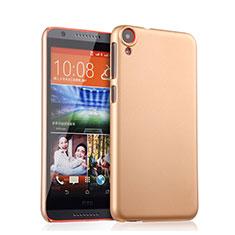 Custodia Plastica Rigida Opaca per HTC Desire 820 Oro