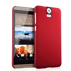 Custodia Plastica Rigida Opaca per HTC One E9 Plus Rosso