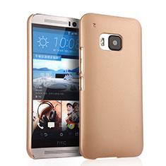 Custodia Plastica Rigida Opaca per HTC One M9 Oro