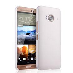 Custodia Plastica Rigida Opaca per HTC One Me Bianco
