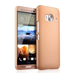 Custodia Plastica Rigida Opaca per HTC One Me Oro
