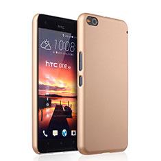 Custodia Plastica Rigida Opaca per HTC One X9 Oro