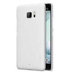Custodia Plastica Rigida Opaca per HTC U Ultra Bianco