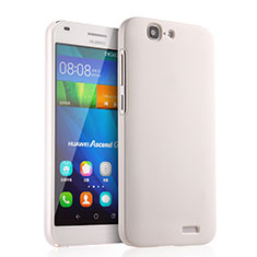 Custodia Plastica Rigida Opaca per Huawei Ascend G7 Bianco