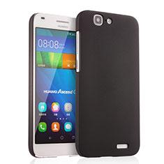Custodia Plastica Rigida Opaca per Huawei Ascend G7 Nero